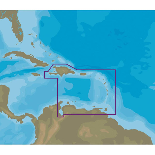 C-MAP NT+ NA-C510 Eastern Caribbean Sea - FP-Card Format