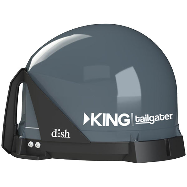 KING Tailgater Portable HD Satellite TV Antenna - Full 1-Year Warranty *Remanufactured