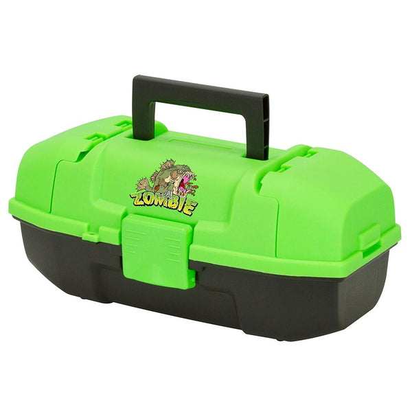 Plano Youth Zombie Tackle Box - Green-Black