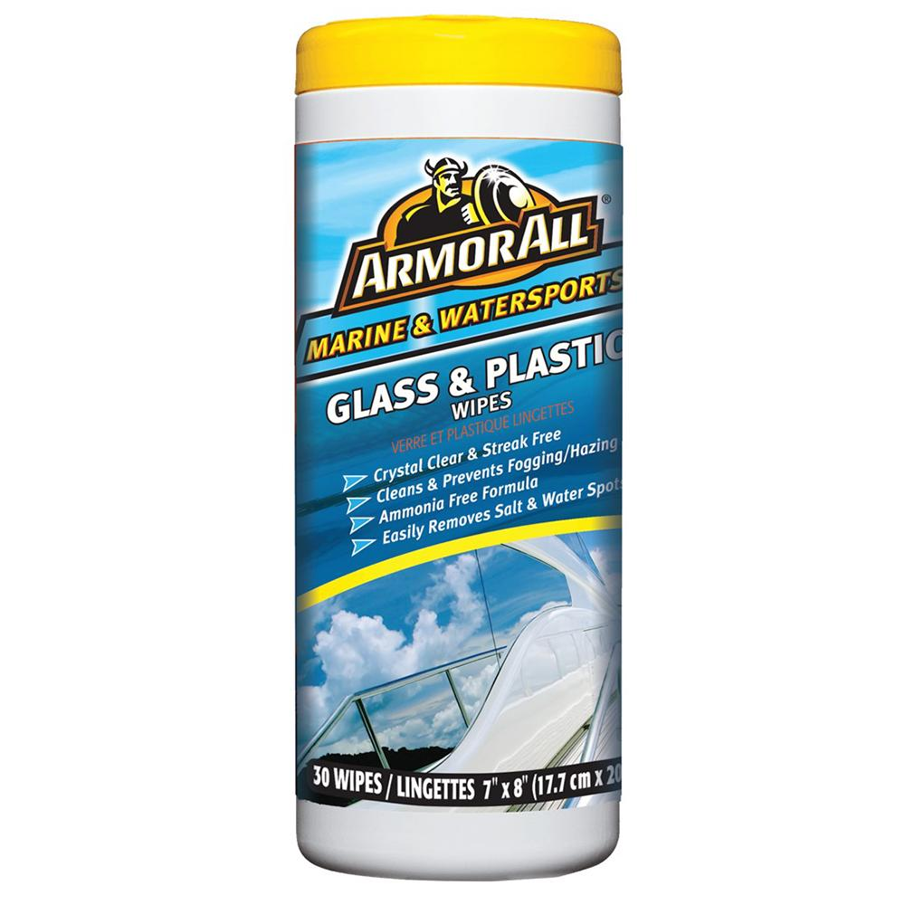 Armor All Glass & Plastic Cleaner Wipes - *Case of 6*