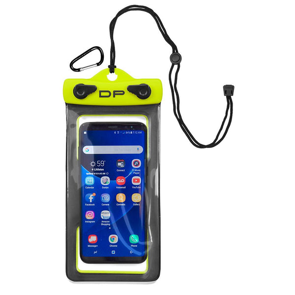 "Dry Pak Smartphone, GPS, MP3 Case - 4"" x 7"" - Lemon Lime"
