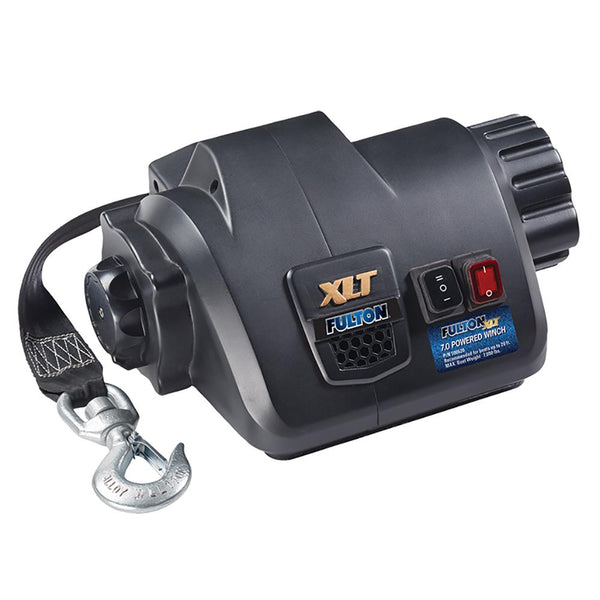 Fulton XLT 7.0 Powered Marine Winch w-Remote f-Boats up to 20'