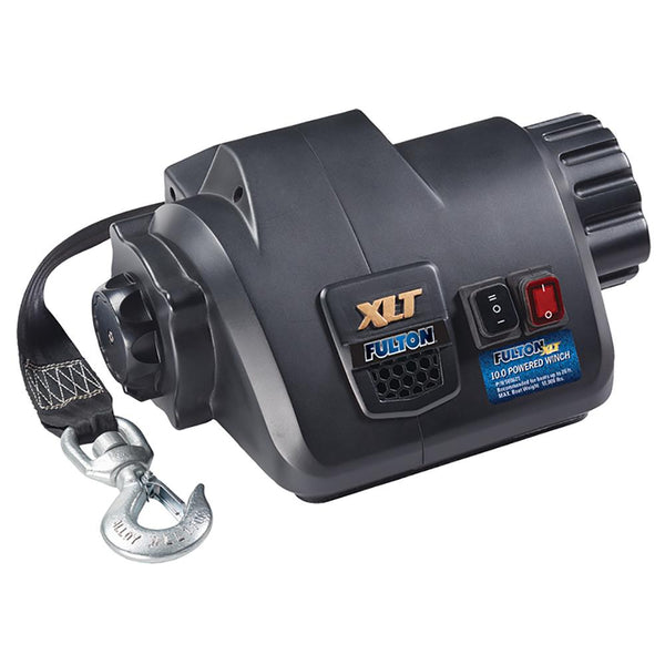 Fulton XLT 10.0 Powered Marine Winch w-Remote f-Boats up to 26'