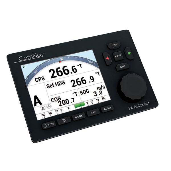 ComNav P4 Color Pack - Fluxgate Compass & Rotary Feedback f-Yacht Boats *Deck Mount Bracket Optional