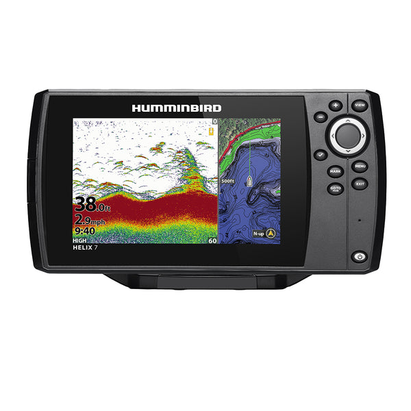 Humminbird HELIX® 7 CHIRP Fishfinder-GPS Combo G3 w-Transom Mount Transducer