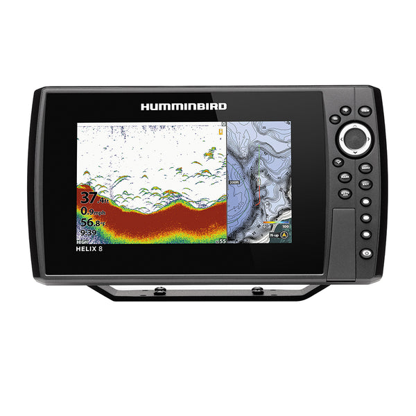 Humminbird HELIX® 8 CHIRP Fishfinder-GPS Combo G3N w-Transom Mount Transducer