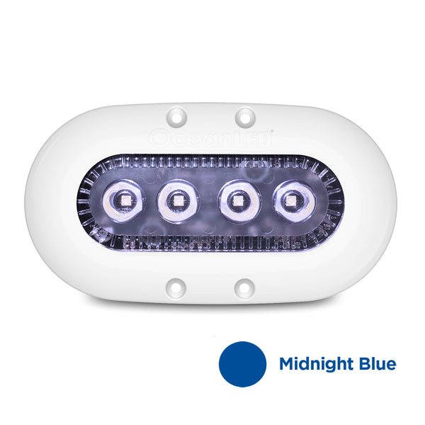 OceanLED X-Series X4 - Midnight Blue LEDs - No Strobe