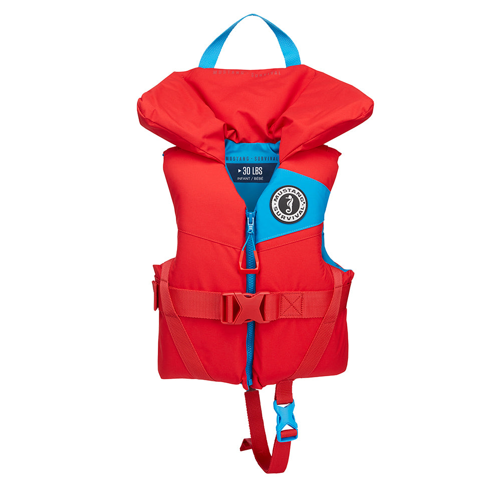 Mustang Lil' Legends 100 Infant Foam PFD - Less Than 30lbs - Imperial Red