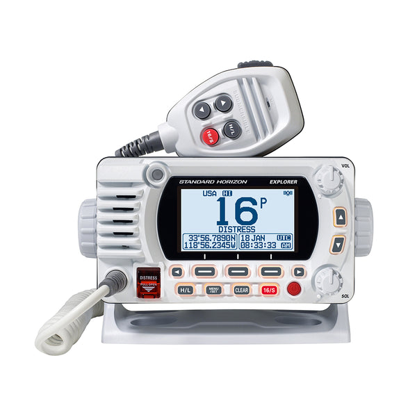Standard Horizon GX1800G Fixed Mount VHF w-GPS - White