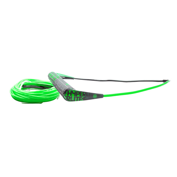 Hyperlite Team Handle w-75' Silicone X-Line Combo - Green