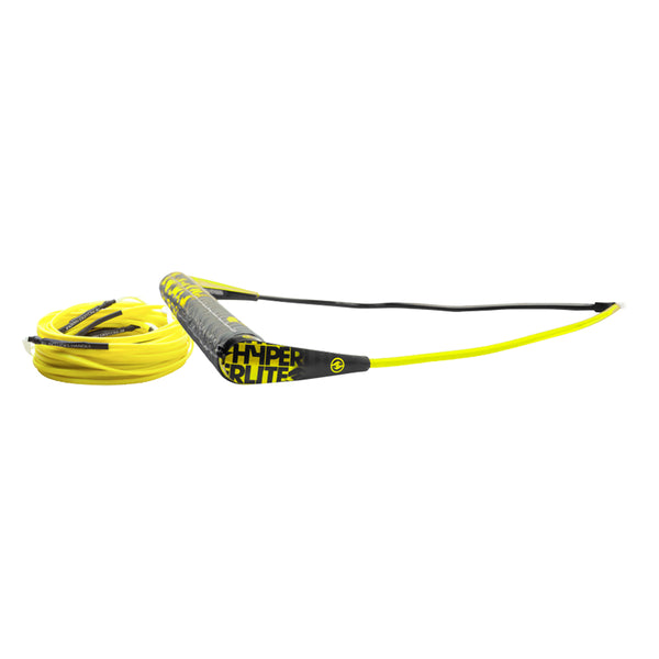 Hyperlite Team Handle w-75' Silicone X-Line Combo - Yellow