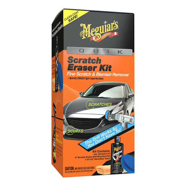 Meguiar's Quik Scratch Eraser Kit *Case of 4*