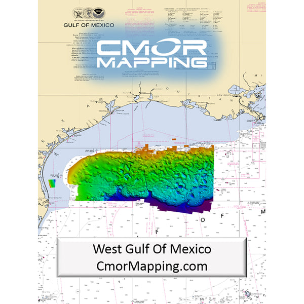 CMOR Mapping West Gulf of Mexico f-Simrad, Lowrance, B&G & Mercury