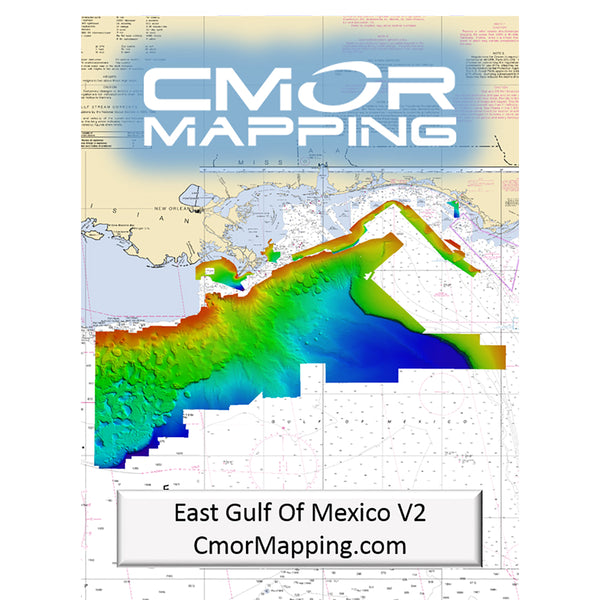 CMOR Mapping East Gulf of Mexico f-Simrad, Lowrance, B&G & Mercury