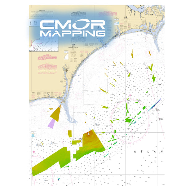 CMOR Mapping Georgetown & Cape Lookout f-Raymarine