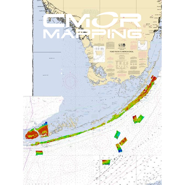 CMOR Mapping South Florida f-Simrad, Lowrance B&G & Mercury