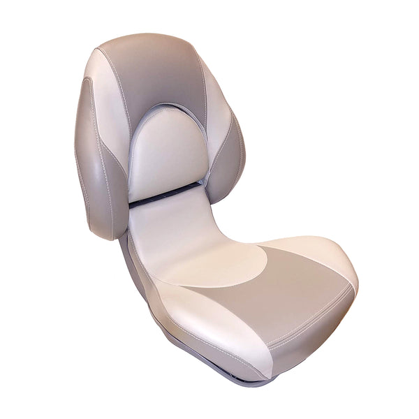 Attwood SAS Centric 2™ Fully Upholstered Seat - Smoke-Gray