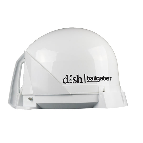 KING DISH® Tailgater® Portable Satellite TV Antenna - 1-Year Warranty - *Remanufactured