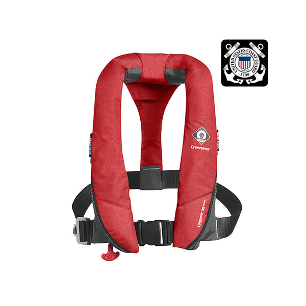 Crewsaver Crewfit 35 Sport USCG Automatic Life Jacket - Red