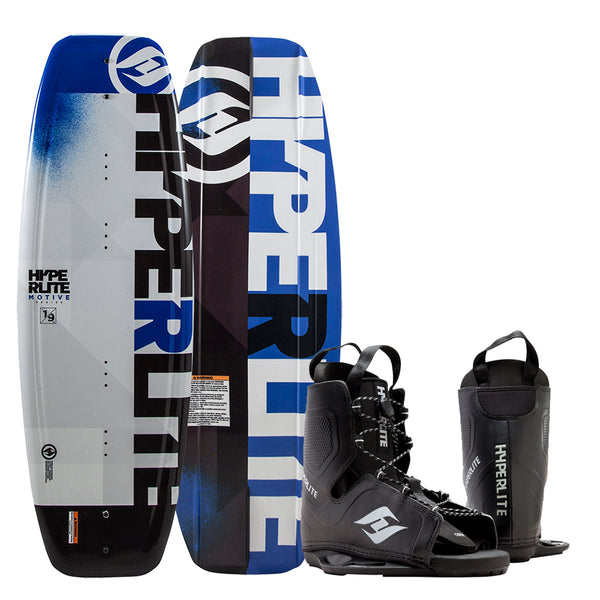 Hyperlite Motive Wakeboard 134cm w-Frequency Boot