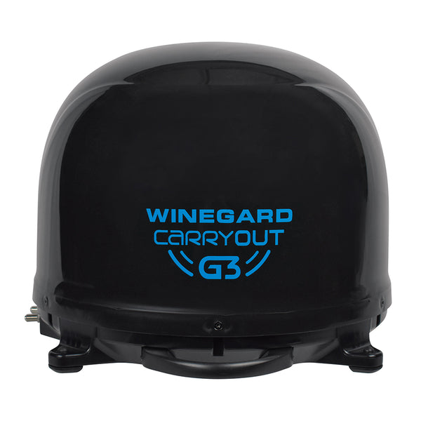 Winegard Carryout G3 Automatic Portable Satellite TV Antenna - Black