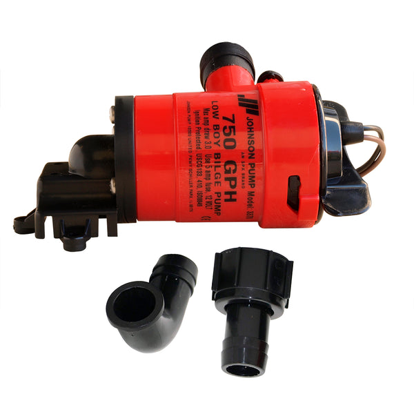 Johnson Pump Low Boy Bilge Pump - 750 GPH - 12V