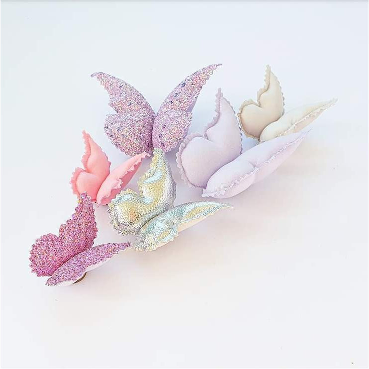 Butterfly Wall Decals © - Mauve Diamond - 6 Pack