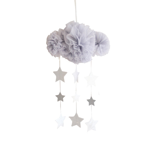 Tulle Cloud Mobile Mist and Silver