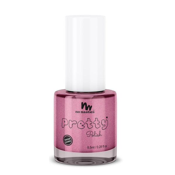 Pink Water- Based Peelable Nail Polish