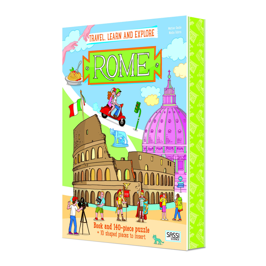 Rome Puzzle and Book Set