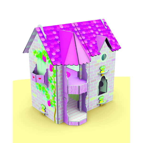 Dollhouse 3D Puzzle and Book