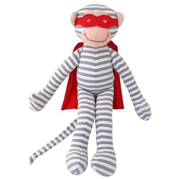 Super Hero Monkey Rattle
