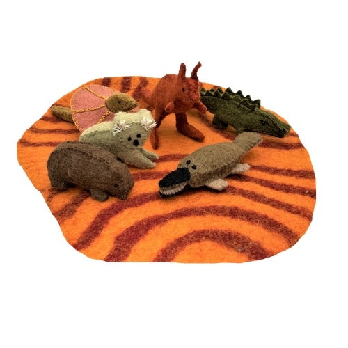 Papoose Aussie Animals and Outback Mat