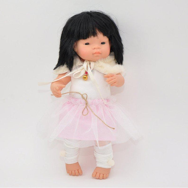 Miniland Doll Fur Collar