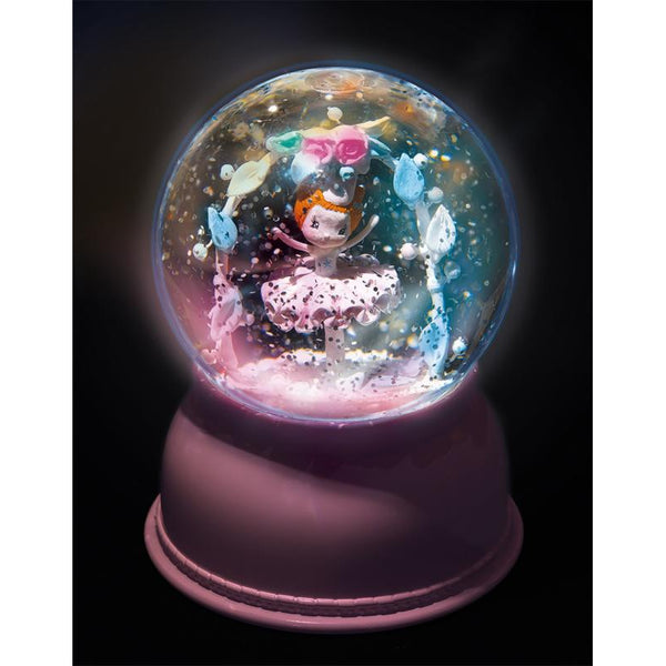 Globe Night Light Ballerina