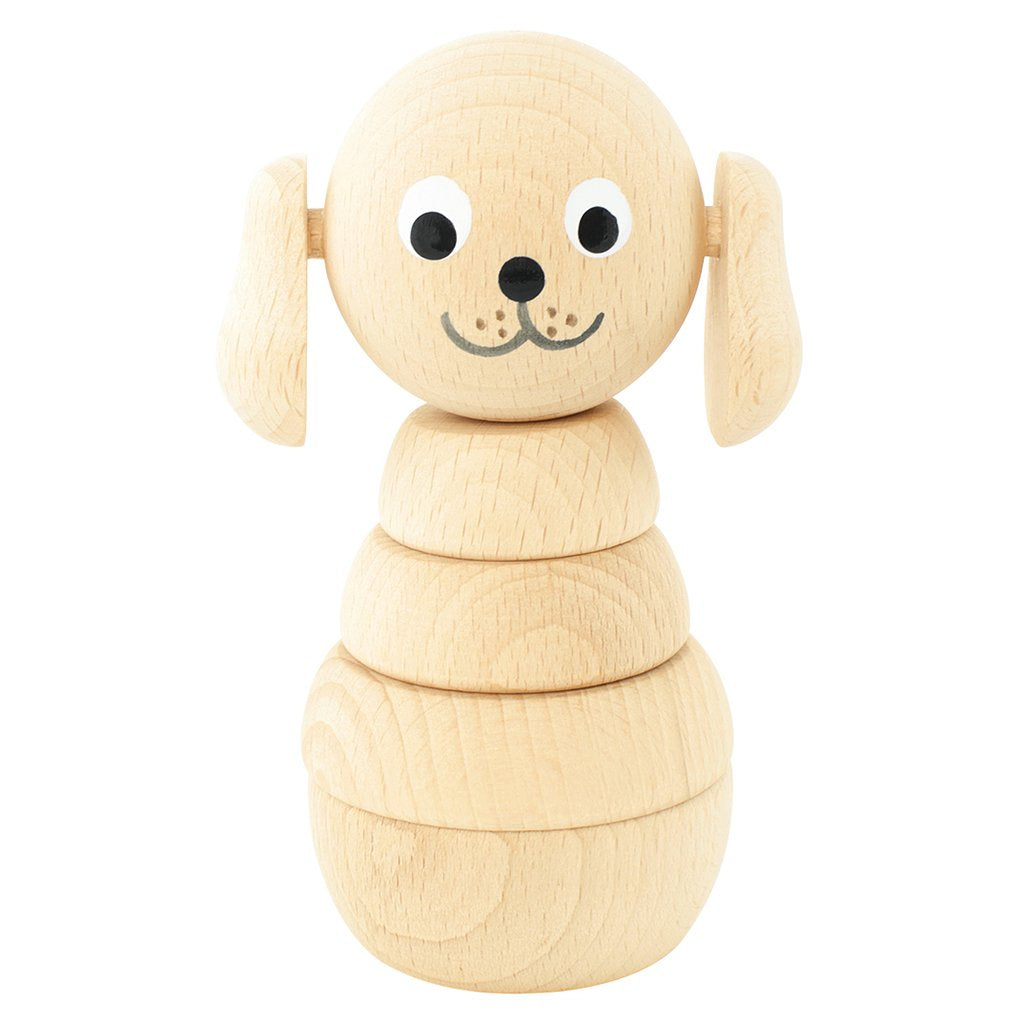 Wooden Stacking Puzzle Dog Blair