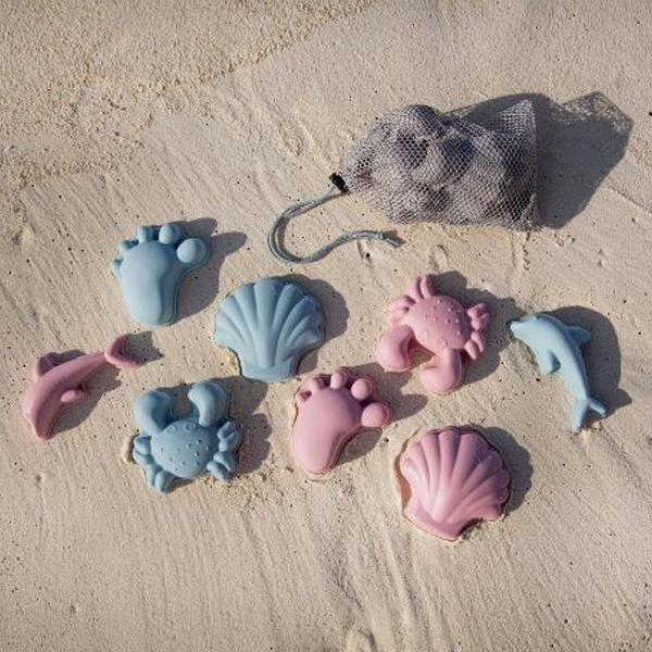 Scrunch Beach Moulds Duck Egg Blue