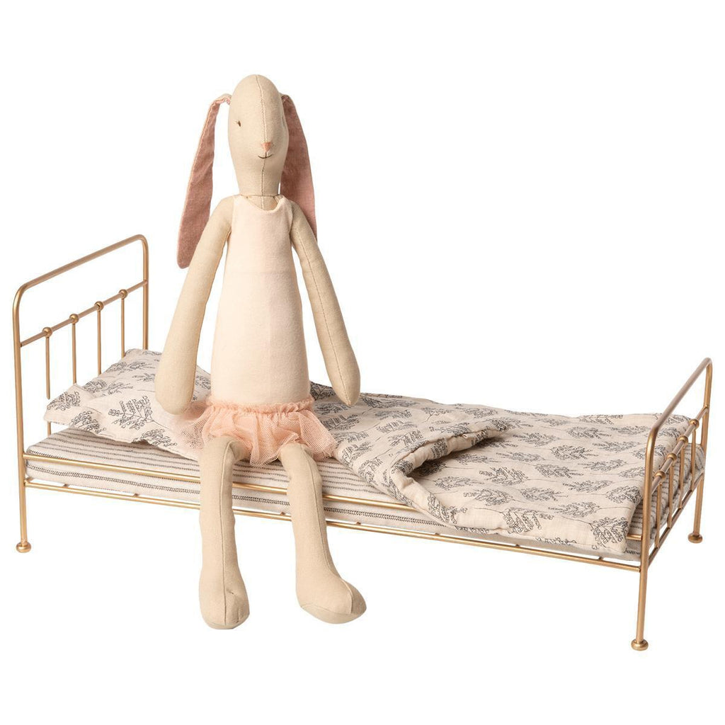 Bunny Ballerina and Gold Bed Medium