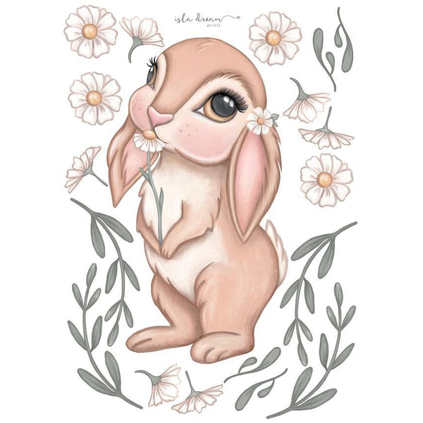 Bunny Magic Fabric Decal