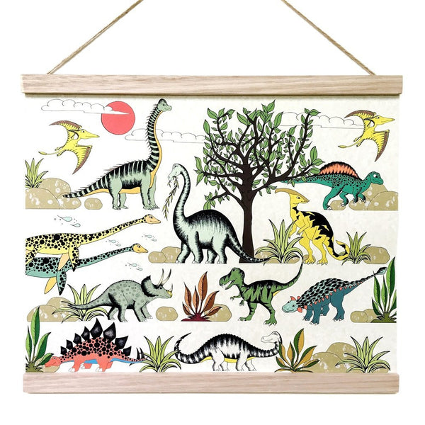 Dinosaur Adventures Art Hanger