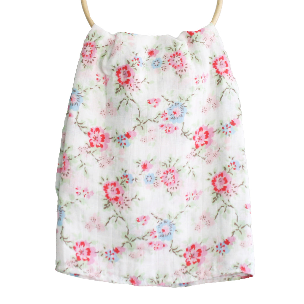 Muslin Swaddle Cottage Floral