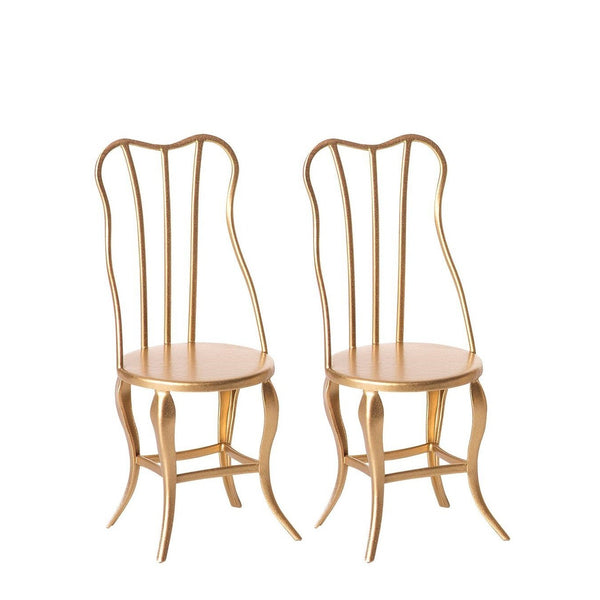 Vintage Chairs Micro Gold