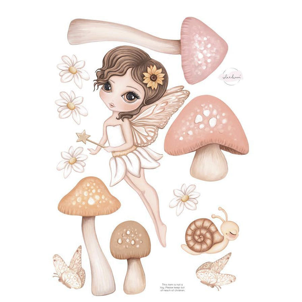 Hazel Fairy Fabric Decal