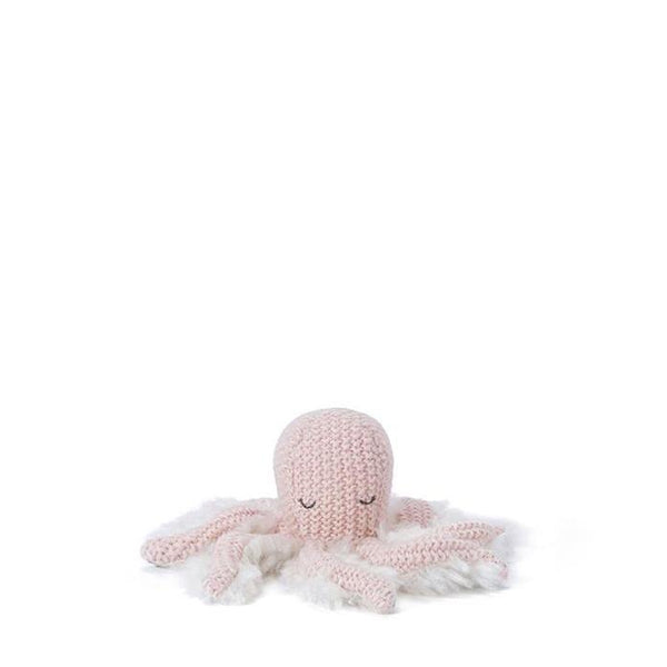Ollie Octopus Rattle Pink