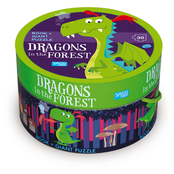 Dragons in the Forest Puzzle and Book