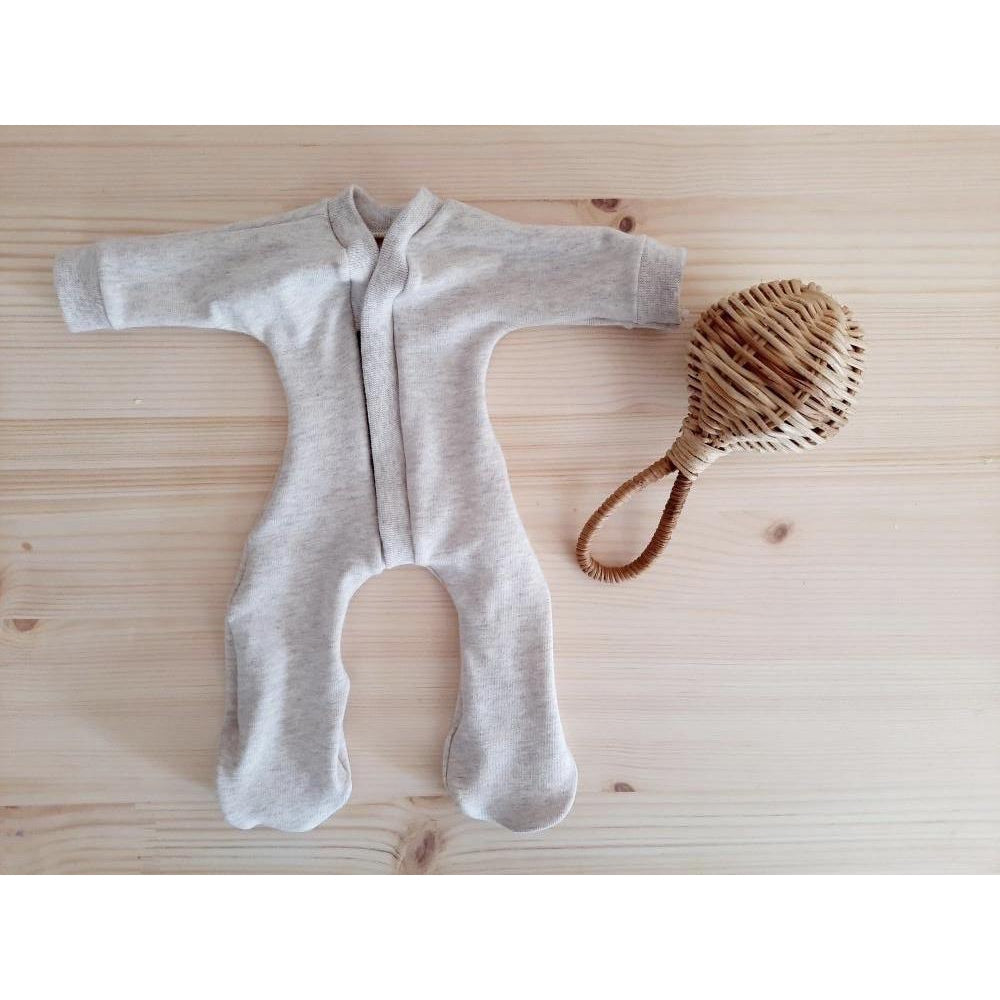 Doll's Somnsuit Oatmeal