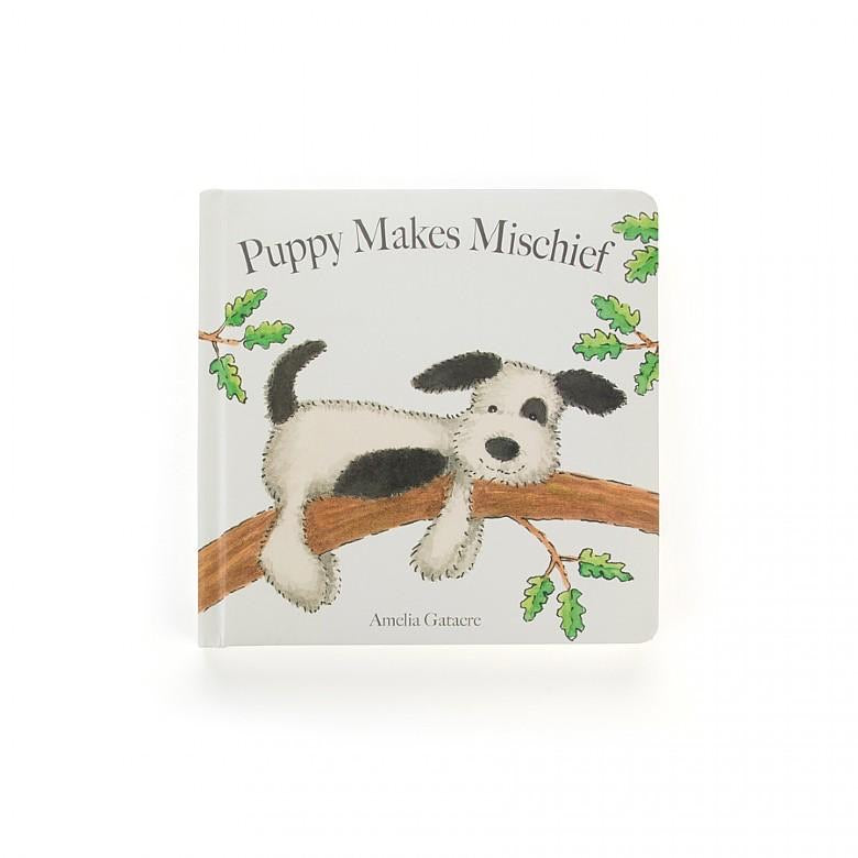 Puppy Makes Mischief Jellycat Book