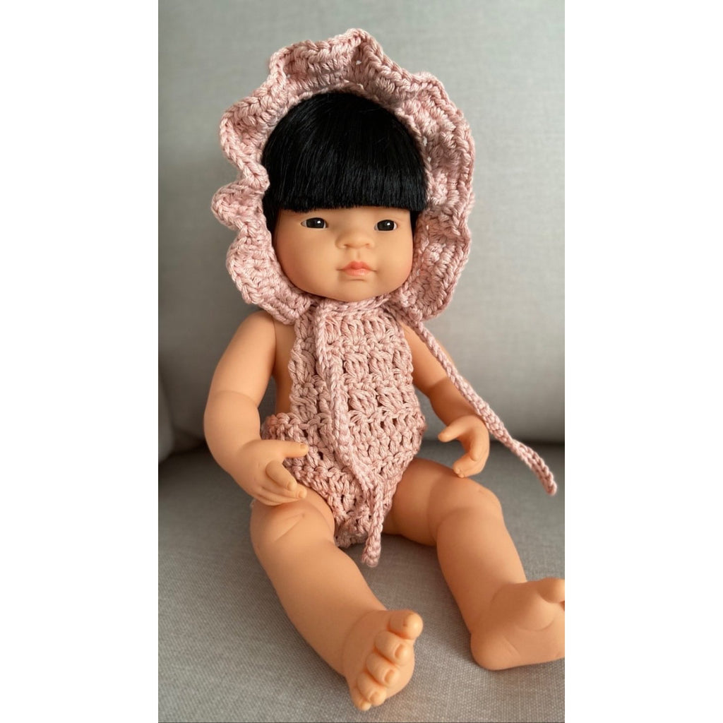 Doll's Romper Baby Pink