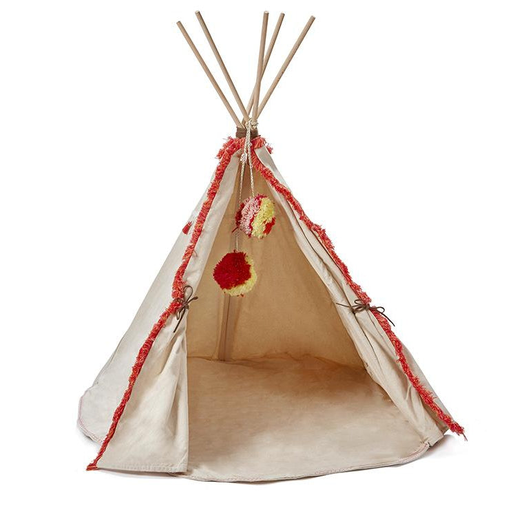 Doll's Tee Pee Coral