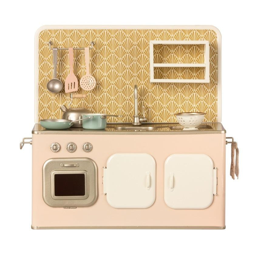 Metal Kitchen Powder Pink